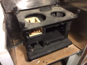 Shipmate woodstove fit check